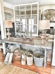 sofa table decor. Country Florist Rustic Sofa Table Decor L