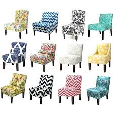 awesome blue print accent chair popular of printed amazing chairs patterned e43