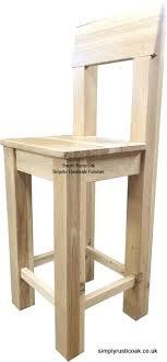 rustic oak kitchen bar stools wooden stool uk