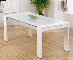 sophia white dining table high gloss table legs in white with a stained glass top and