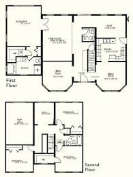 plans 4 bedroom 3 bath house plans homes floor 2 story 3d