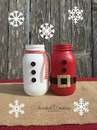 Mason Jars Decorated For Christmas Mason Jar Christmas Craft Ideas Kids Preschool Crafts 37