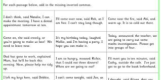 Inverted Commas KS2 SPAG Test Practice | Classroom Secrets