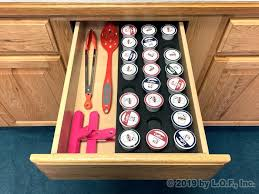 This is another on our list of best nespresso pod drawer, which is the answer to modern and efficient storage options. Coffee Pod Storage Drawer Insert Fits Keurig K Cup 27 Slot 7 75 X 20 Ebay