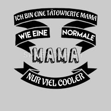 Mama Geschenk Sprüche Tattoo Mutter Eltern Stolz Frauen Hoodiekleid