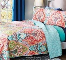 better homes and gardens quilts.  Homes Item 6 BETTER HOMES AND GARDENS 3 Pc FULL QUEEN QUILT SET W SHAMS Jeweled  Damask VCNY BETTER  And Better Homes Gardens Quilts N