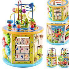 HCM]Đồ chơi trẻ em thông minh - Hộp trí tuệ 8 chức năng Đồ chơi cho bé 1  tuổi mới nhất