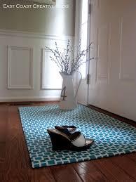 waterproof area rug lovely i am momma hear me roar diy fabric floorcloth