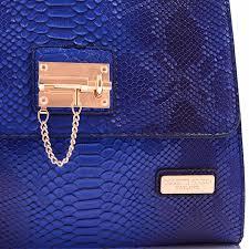 Snakeskin Designer Bags Snakeskin Handbags Blue