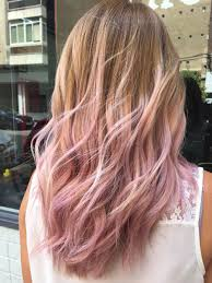 Short Blonde And Pink Hairstyles The Highlights Of Lighter Pink Hair