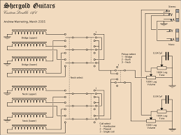 double neck bass 6stringguitar wiring plan talkbass com