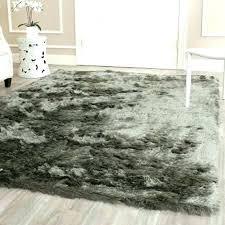 gray fluffy rug silken titanium grey 4 x 6 in on hand gray diamond rug