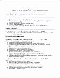 Certified Medical Assistant Resume Template Free Sample Resume