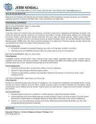 Police Officer Resume Template Best of Free Police Officer Resume Templates Httpwwwresumecareer