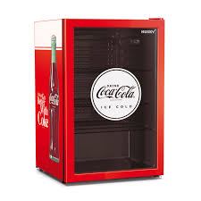 coca cola bar fridge glass door