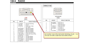 2000 mustang radio wiring diagram 1999 ford mustang radio wiring diagram at 2000 Mustang Radio Wiring Harness