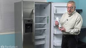 How To Replace Ge Water Filter Refrigerator Repair Replacing The Water Filter Ge Part Mswf