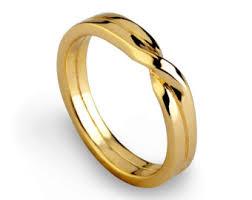 golden wedding bands. love knot ring, gold wedding band, unique mens womens band golden bands t
