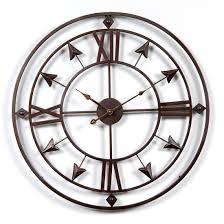 360dsc 60 60 1 5cm retro style wall clock household bedroom iron art clock