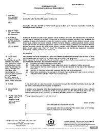 Bill Of Sale Form Connecticut Real Estate Purchase And Sale ...