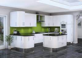white high gloss kitchen cupboard doors spectacular white high gloss kitchen doors f24 on amazing home