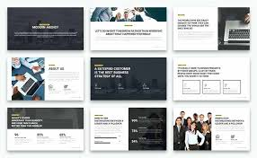 Modern Powerpoint Template Free Modern Minimal Business Template And Keynote Powerpoint