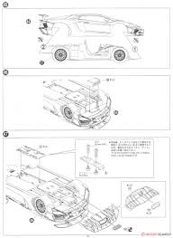 Lamborghini aventador lp750 4 sv model car assembly guide12