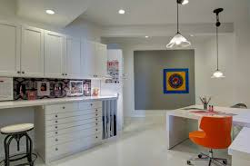 craft room home office design. Craft Room Storage Cabinets With Large Home Office And L Shaped Desk Floor To Picture Of Work Counter Colorful Drawers Above 13 1200x800px Design A