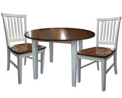 Intercon Arlington 3 Piece Dining Set With Two Drop Leaves Rooms