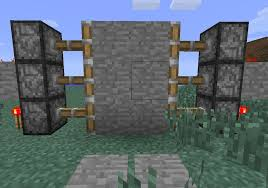 How to Create a Hidden Piston Door in Minecraft Minecraft