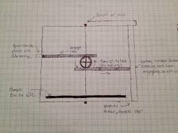 open double door drawing. Interior Doors: Double Doors (i.e. French), Pocket And Barn-style Track Can Be Used To Provide Privacy Rooms When Needed Left Open Otherwise So Door Drawing