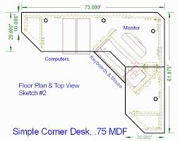 corner computer desk plans corner desk plans plywood desk plans regarding corner computer desk plans decorating interior build