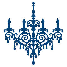 tattered lace chandelier acd156