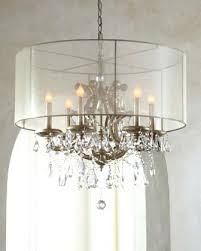 chandeliers with drum shade where can i purchase the sheer silk lamp only pertaining to stylish chandeliers with drum shade