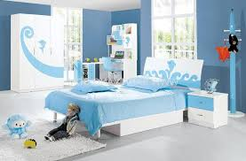 blue kids furniture. Kids Bedroom Furniture Sets For Boys Soft Blue Wall Paint W Combination Of Purple Large Wardrobe Cream Pillows Near Computer Desk Matched N