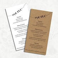 Ms Word Menu Templates 023 Template Ideas Ms Word Menu Digital Diy Editable Wedding