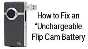 Flip Camera Charging Light Flip Cam Battery Wont Charge How To Fix