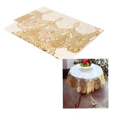 round vinyl lace tablecloth 70cm image 1