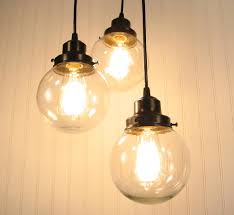 image of hand blown glass globe pendant lights blown glass pendant lights
