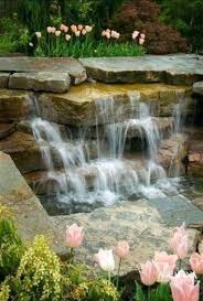 Relaxing garden backyard waterfalls Fish Pond Waterfall Design For Home Design Your Dream Home With Relaxing Garden And Backyard Waterfalls More Waterfall Home Design Callerbaseinfo Waterfall Design For Home Design Your Dream Home With Relaxing
