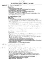 Sample Graphic Design Resumes Graphics Design Resume Samples Velvet Jobs 21