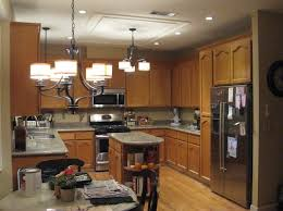 awesome traditional kitchen chandelier design with drum shade