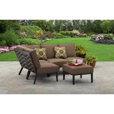 better homes and gardens cushions. Simple Gardens Better Homes And Gardens Hampton Road 5Piece Cushion Sectional Set   Walmartcom Throughout And Cushions
