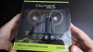 <b>Creative Outlier Sports</b> Bluetooth Headphones - YouTube