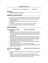 resume templates medical assistant resume samples medical assistant resume template medical assistant resume template free resume objective for medical assistant