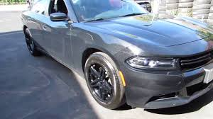 2015 DODGE CHARGER RALLY RIDING ON CUSTOM 19 INCH CONCAVE BLACK ...