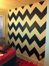 Black And White Chevron Bedroom Walls?