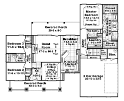 arts crafts house plan first floor 077d 0178 house planore