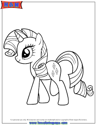 Small Picture Free Printable My Little Pony Coloring Pages H M Coloring Pages
