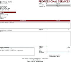 Excel Temp Service Simple Invoice Template For Cool Service Templates Free Word